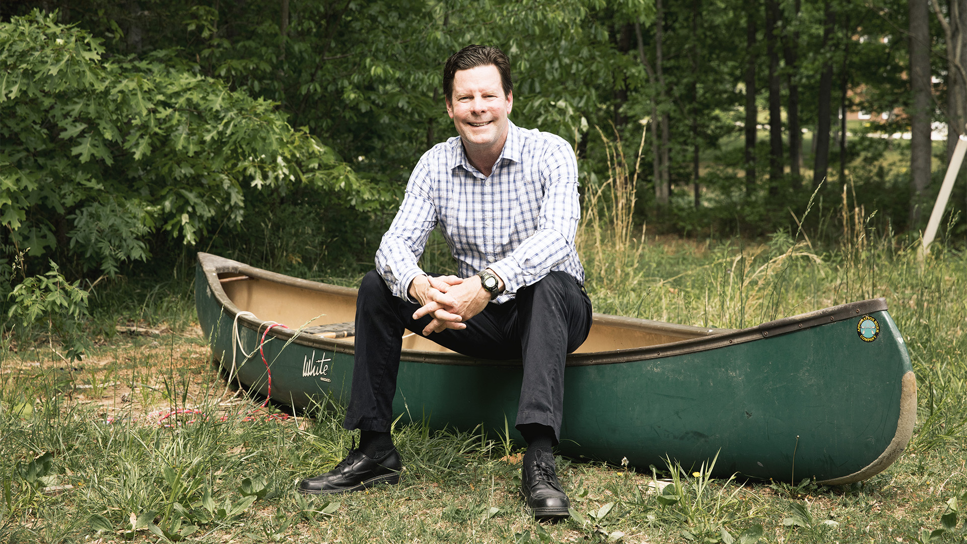 Scott Schomlesky, Hampden-Sydney's Director of High Adventure
